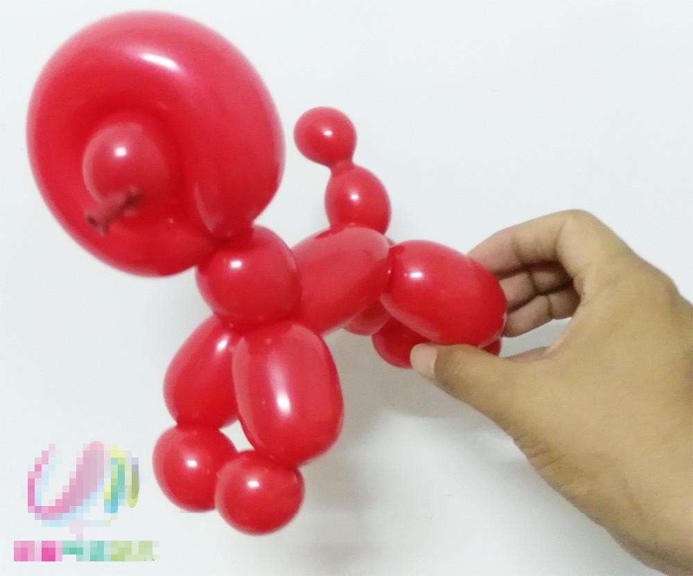 气球装饰图解教程初级篇--小狗造型